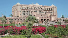 Emirates Palace in Abu Dhabi Royalty Free Stock Images