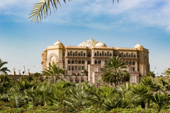 Emirates Palace, Abu Dhabi Stock Photos