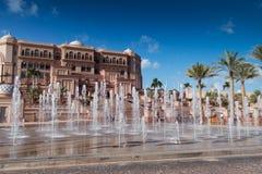 Emirates Palace Abu Dhabi Royalty Free Stock Photography