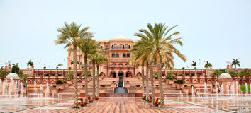 Emirates Palace Stock Photography