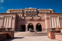 Emirates Palace, Abu Dhabi UAE Royalty Free Stock Image