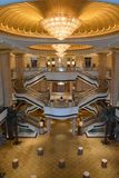 The Emirates Palace in Abu Dhabi Stock Photography