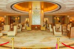 Emirates Palace entrance Royalty Free Stock Image