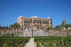Emirates Palace Hotel Stock Image