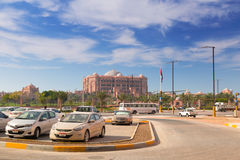 Emirates Palace hotel in Abu Dhabi, UAE Royalty Free Stock Image