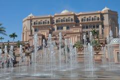 Emirates Palace Hotel in Abu Dhabi, UAE Stock Photography