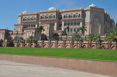 Emirates Palace Hotel in Abu Dhabi, UAE Royalty Free Stock Photography