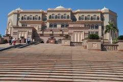 Emirates Palace Hotel in Abu Dhabi, UAE Royalty Free Stock Photos