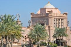 Emirates Palace Hotel in Abu Dhabi, UAE Stock Photos