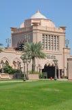 Emirates Palace Hotel In Abu Dhabi, UAE Royalty Free Stock Photo