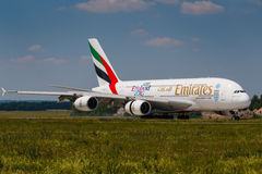 A380 Emirates Royalty Free Stock Photo