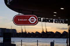 Emirates Royal Docks Stock Photo