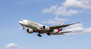 Emirates Sky Cargo Plane Stock Photo