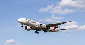 Emirates Sky Cargo Plane Stock Photo
