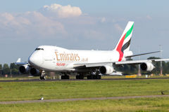 Emirates SkyCargo Boieing 747 Stock Photos