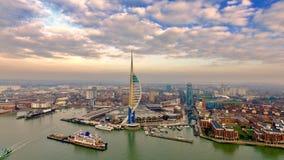 Emirates Spinnaker Tower stock photos