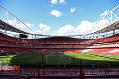 Emirates Stadium-Ansicht Stockbilder