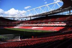 Emirates Stadium-Ansicht Stockfoto