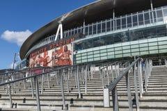 Emirates Stadium dell'arsenale Immagini Stock Libere da Diritti