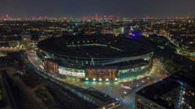 Emirates Stadium imagem de stock