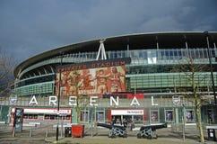 Emirates Stadiumsikt Royaltyfria Bilder