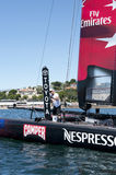 Emirates Team new Zealand Stock Image