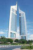 Emirates tower. A land mark of Dubai City Stock Image