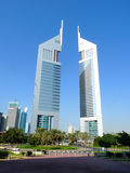 Emirates Towers. Dubai, United Arab Emirates Royalty Free Stock Photos