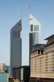 The Emirates Towers stock photo
