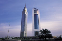 Emirates Towers Stock Photography
