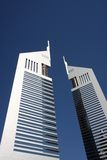 Emirates Towers in Dubai Stock Images