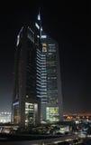 Emirates Towers in Dubai Stock Image