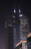 Emirates Towers in Dubai Royalty Free Stock Photos