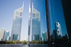 Emirtaes Towers Stock Image