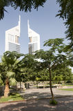 Emirates twin towers Stock Image