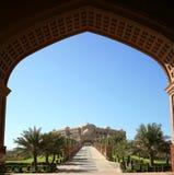 emirateshotellslott Arkivfoto