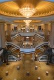 Emiratesslotten i Abu Dhabi Arkivbild
