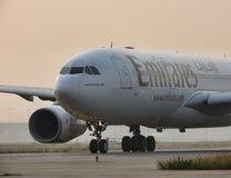 Emiratflygbolag Arkivbild
