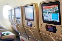 Emirati Airbus A380 Fotografie Stock Libere da Diritti