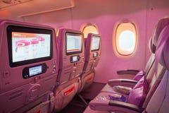 Emirati Airbus A380 Fotografia Stock