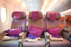 Emirati Airbus A380 Fotografie Stock