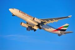 Emirati Airbus A330 Immagine Stock Libera da Diritti