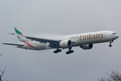 Emirati Boeing 777 Immagine Stock