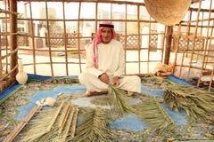 Emirati man dubai Abu Dhabi Royaltyfri Bild