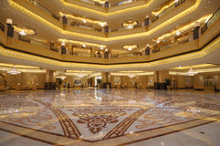 Emirati palazzo, Abu Dhabi Fotografia Stock Libera da Diritti
