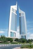 Emiratkontrollturm Stockbild