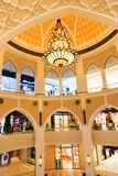 Emiratmall bei Dubai lizenzfreies stockbild