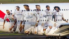 Emiratos del Real Madrid Imágenes de archivo libres de regalías