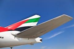 Emirats Airbus 330 Photo libre de droits