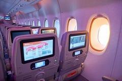 Emirats Airbus A380 Photo libre de droits